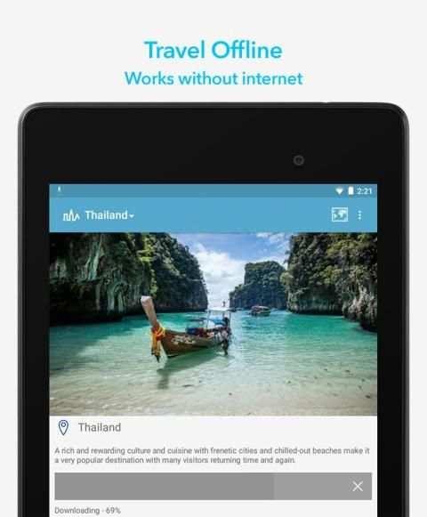 World Travel Guide by Triposo स्क्रीनशॉट 5