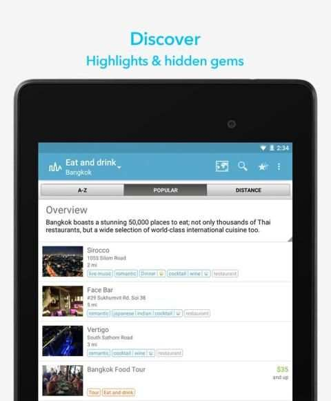 World Travel Guide by Triposo screenshot 4