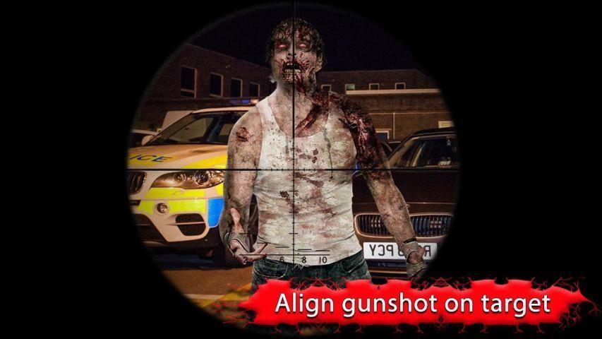 Zombie Shooter Frontier War screenshot 1