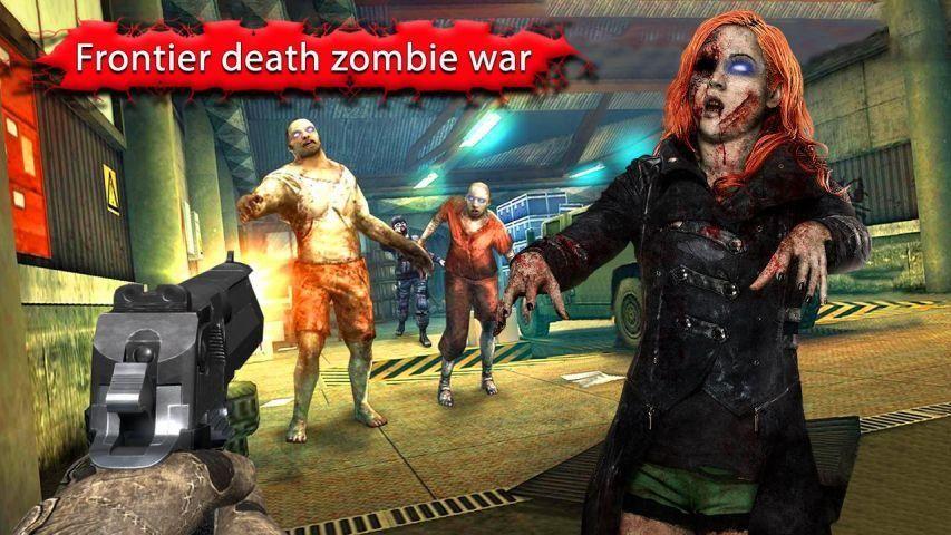 Zombie Shooter Frontier War screenshot 3