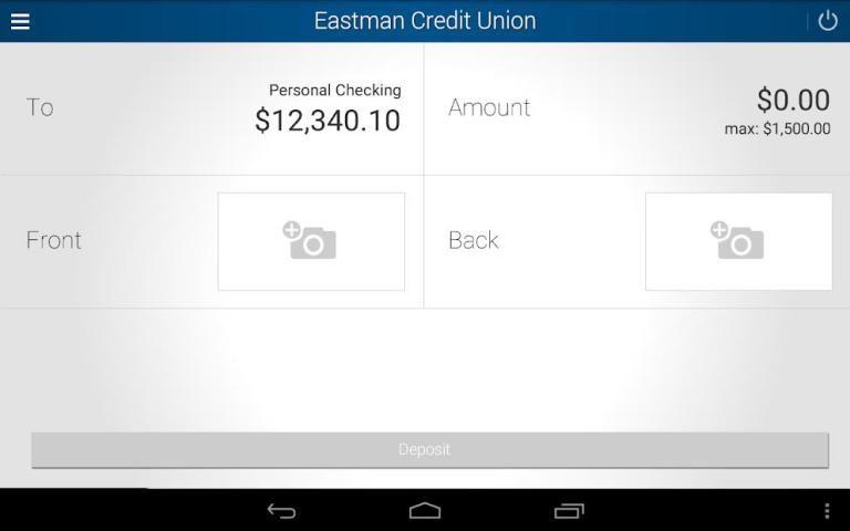Eastman Credit Union Mobile screenshot 1