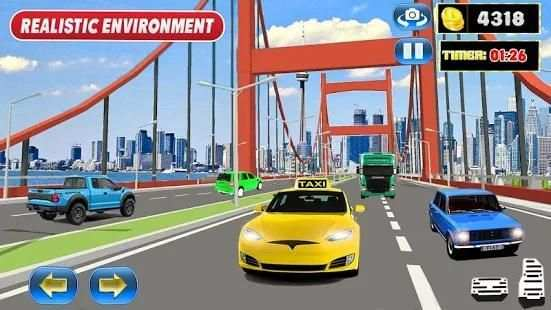 New York Yellow Cab Taxi Driver 2018 screenshot 3