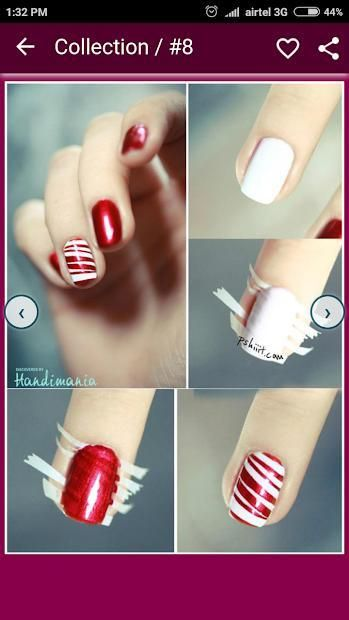 Nail Art Designs Step by Step 6 تصوير الشاشة