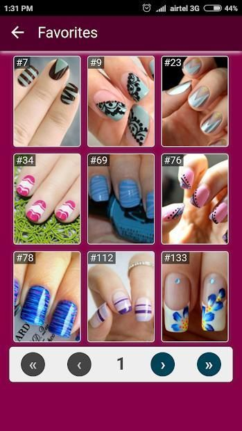 Nail Art Designs Step by Step 3 تصوير الشاشة
