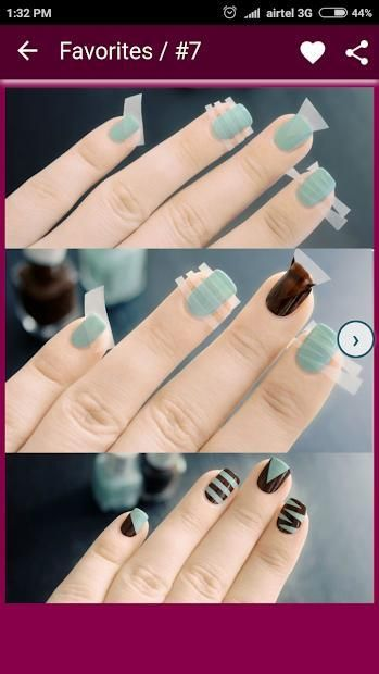 Nail Art Designs Step by Step 7 تصوير الشاشة