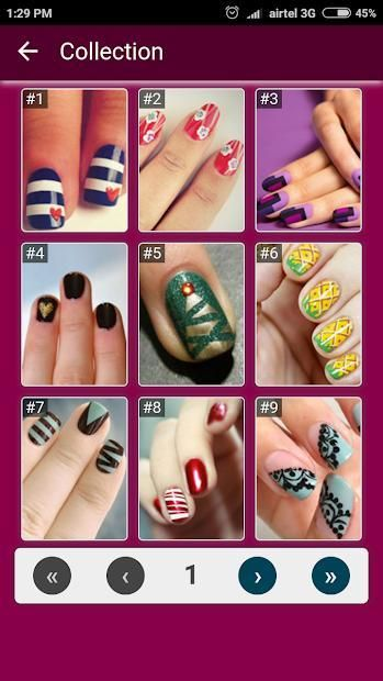 Nail Art Designs Step by Step 5 تصوير الشاشة