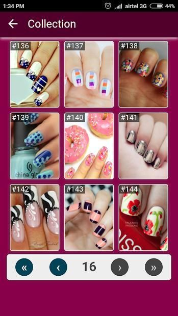 Nail Art Designs Step by Step 1 تصوير الشاشة