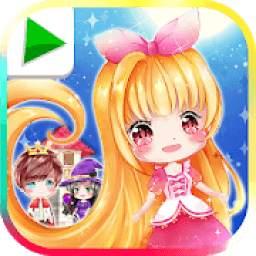 Rapunzel, Princess Bedtime Story and Fairytale
