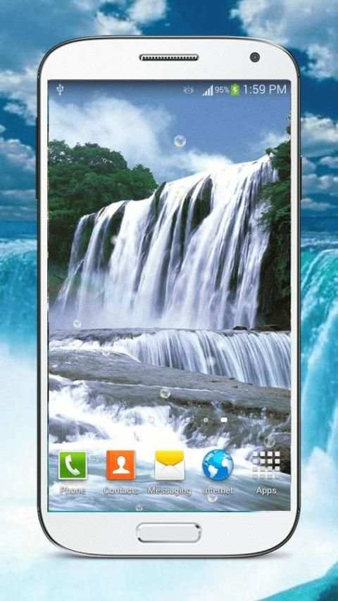 Waterfall Live Wallpaper HD screenshot 8