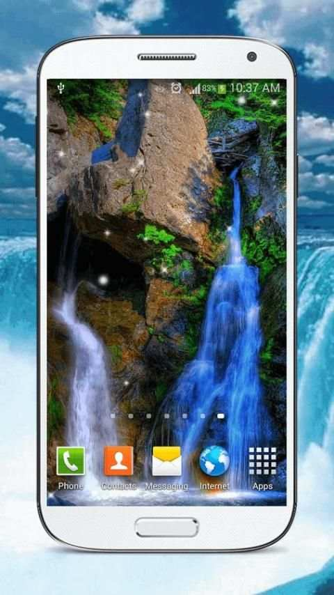 Waterfall Live Wallpaper HD screenshot 3