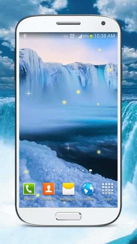 Waterfall Live Wallpaper HD screenshot 7