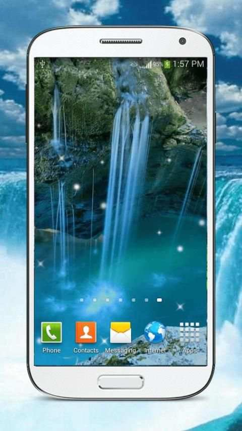 Waterfall Live Wallpaper HD screenshot 2