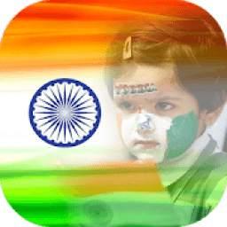 India Flag Photo DP & Indian Flag Letter