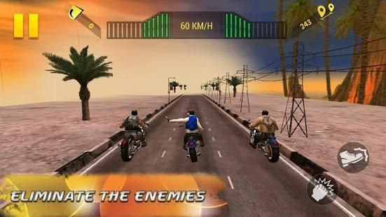 Moto Attack 3D Bike Race 2016 स्क्रीनशॉट 4