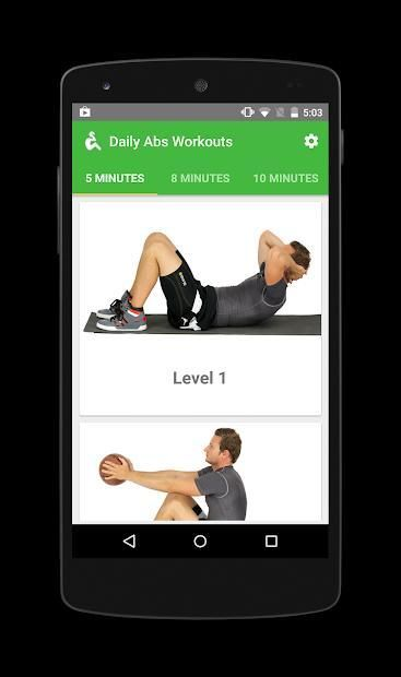 Fitway: Daily Abs Workout free screenshot 4