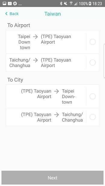 AirPoPo Airport Transfer screenshot 4