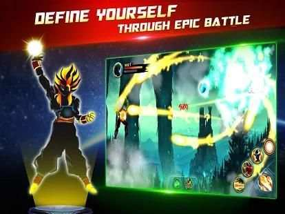 Dragon Battle Legend: Super Hero Shadow Warriors screenshot 3