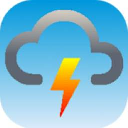 Weather forecast, thunderstorm, clouds, rain maps.