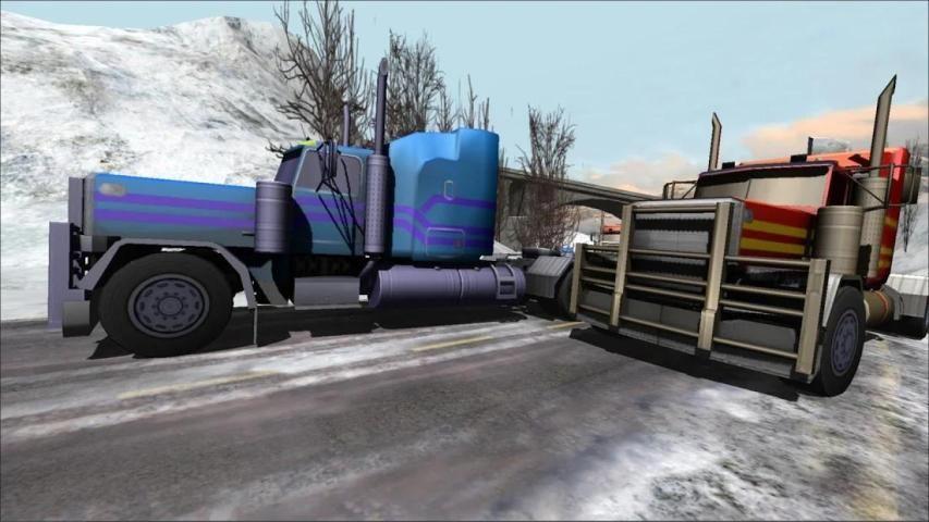 Truck Car Racing Free Game 3D screenshot 3