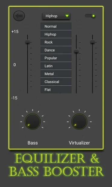 Equalizer and Bass Booster screenshot 2
