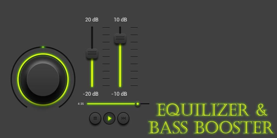 Equalizer and Bass Booster screenshot 5