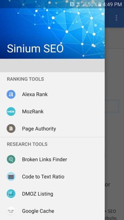 Sinium SEO Tools screenshot 1