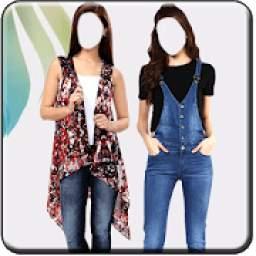 Girls Jeans Photo Suit
