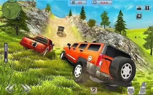 Off-Road Jeep Hill Climbing 4x4:Mountain Drive screenshot 5