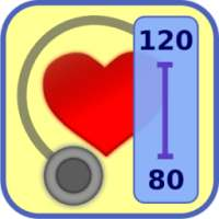 Blood Pressure Diary أيقونة