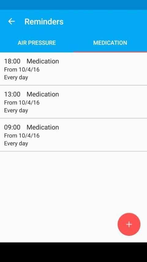 Blood Pressure Diary screenshot 10