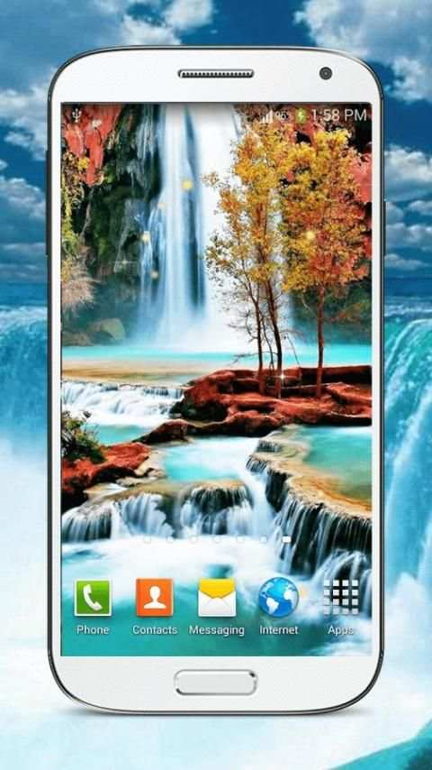 Waterfall Live Wallpaper HD screenshot 9