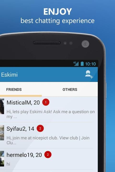 Meet People and Chat: Eskimi 2 تصوير الشاشة