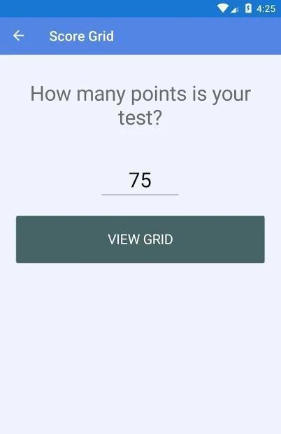Easy Grader - Grading Calculator and Test Tracker 6 تصوير الشاشة