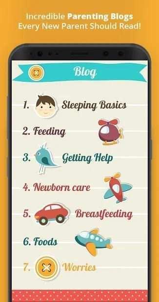 Baby Tracker - Newborn Care From Head to Toe screenshot 1