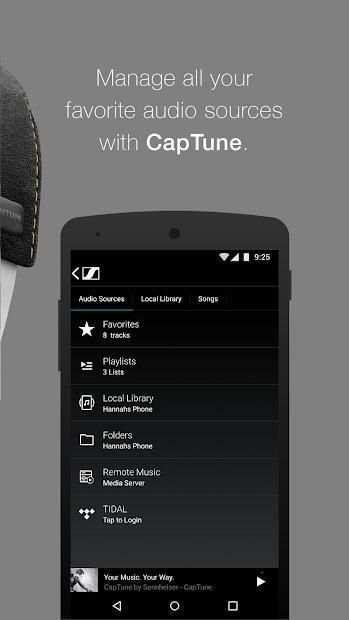 CapTune screenshot 2