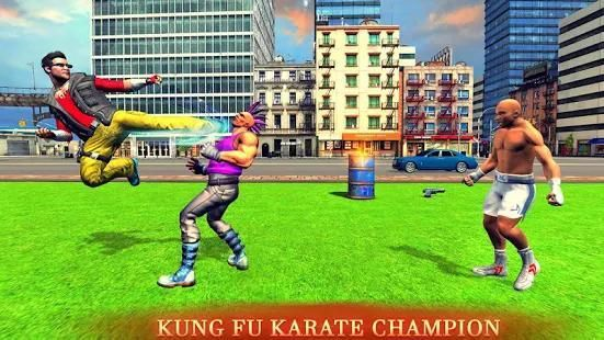 Kung fu boxing champ- Free Action game 1 تصوير الشاشة