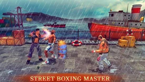 Kung fu boxing champ- Free Action game 3 تصوير الشاشة
