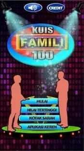 Kuis Famili Seratus screenshot 4