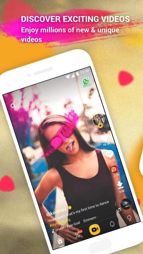 togetU – Video Community, Video Downloader & Clips screenshot 2