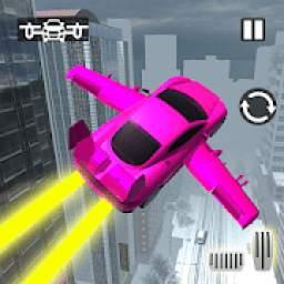 Real Light Flying Car Racing Simulator Games 2019