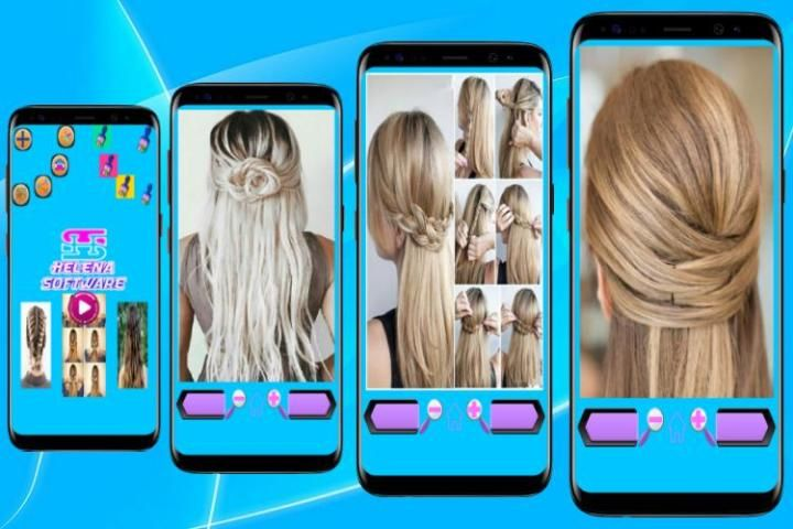 Hairstyles (Step by Step) 8 تصوير الشاشة