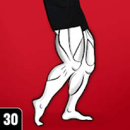 Strong Legs Workout - Thigh, Muscle Fitness 30 Day