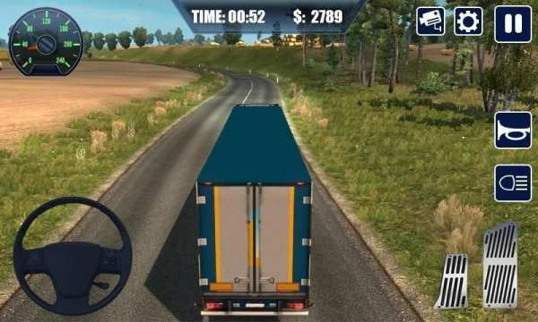 Real Truck Simulator Transport Lorry 3D स्क्रीनशॉट 4