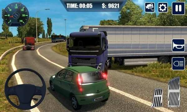 Real Truck Simulator Transport Lorry 3D स्क्रीनशॉट 1