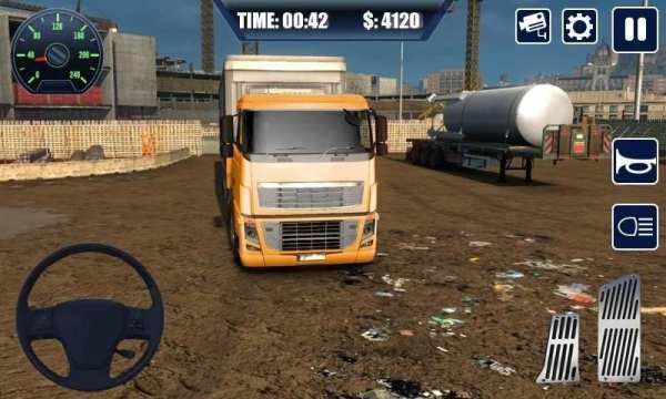 Real Truck Simulator Transport Lorry 3D स्क्रीनशॉट 3