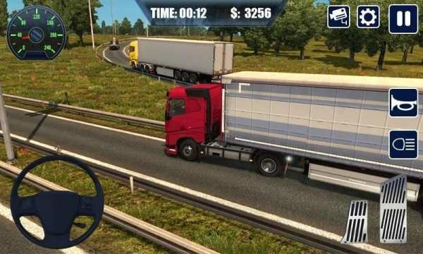 Real Truck Simulator Transport Lorry 3D स्क्रीनशॉट 2