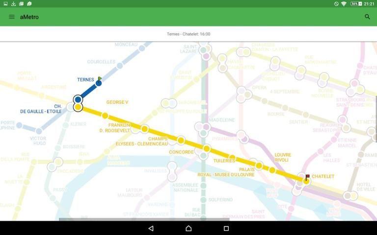 aMetro - World Subway Maps screenshot 4