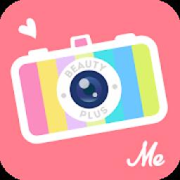 PlusMe Camera - best photo app आइकन
