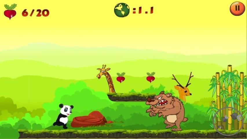 Jungle Panda Run screenshot 7