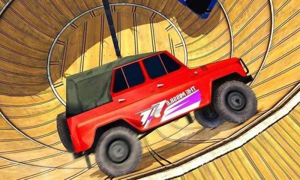 Well of Death Jeep Stunt Rider screenshot 1